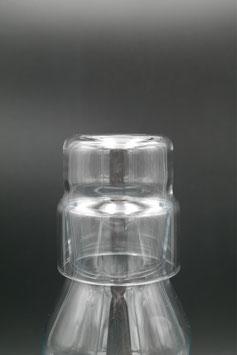 Glasdeckel / Trinkglas  klein