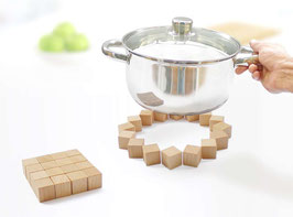 QUAD  Trivet - maple