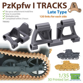 TR85002  1/35 PzKpfw I Tracks Late Type for Ausf.A/B