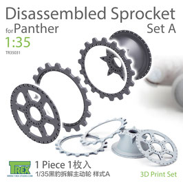 TR35031 1/35 Panther Disassembled Sprocket Set A (1 Piece)