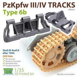 TR85026   1/35 PzKpfw.III/IV Tracks Type 6b