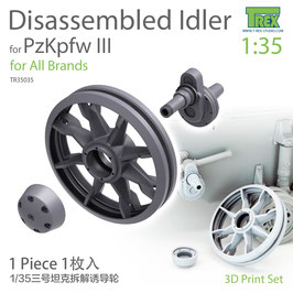 TR35035  1/35 PzKpfw III Family Disassembled Idler (1 piece)