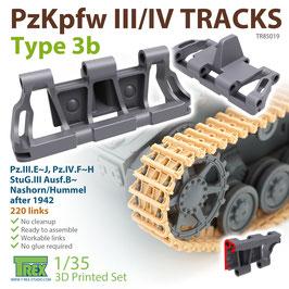 TR85019   1/35 PzKpfw.III/IV Tracks Type 3b