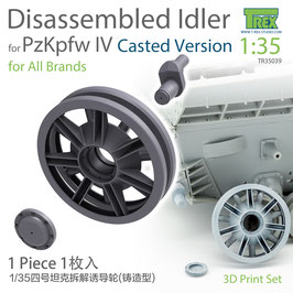 TR35039  1/35 PzKpfw IV Family Disassembled Idler Casted Version (1 piece)