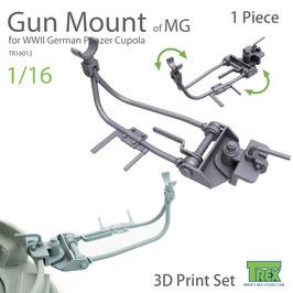 TR16013 1/16 WWII German MG AA Gun Cupola Mount(1 Pieces)