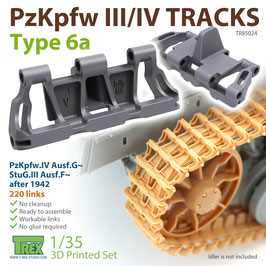 TR85024   1/35 PzKpfw.III/IV Tracks Type 6a