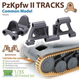 TR85004  1/35 PzKpfw II Tracks Common Model