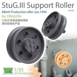 TR35061   1/35 StuG.III Support Roller Alkett Production after Jan.1944
