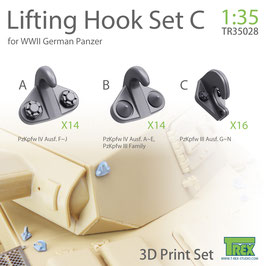 TR35028 1/35 LIFITING HOOK WWII GERMAN PANZER SET C