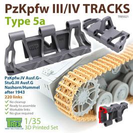 TR85021   1/35 PzKpfw.III/IV Tracks Type 5a