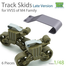TR48003 1/48 Track Skids Set (Late Version) for M4 Family