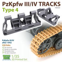 TR85020   1/35 PzKpfw.III/IV Tracks Type 4