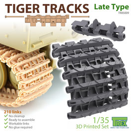 TR85009  1/35 Tiger Tracks Late Type