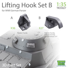 TR35027 1/35 LIFITING HOOK WWII GERMAN PANZER SET B