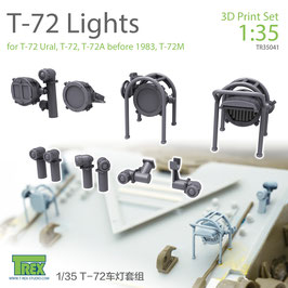 TR35041  1/35 T-72 Lights Set