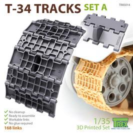 TR85014   1/35 T-34 Tracks Set A