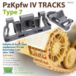 TR85028   1/35 PzKpfw.III/IV Tracks Type 7
