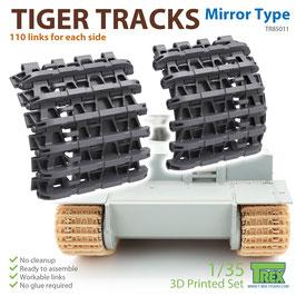 TR85011  1/35 Tiger Tracks Mirror Type