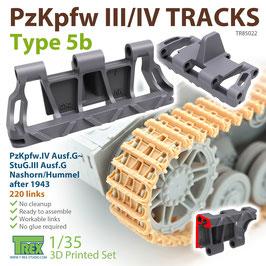 TR85022   1/35 PzKpfw.III/IV Tracks Type 5b