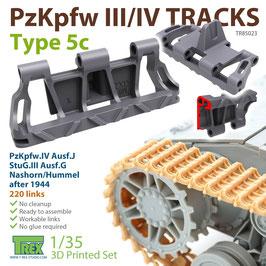 TR85023   1/35 PzKpfw.III/IV Tracks Type 5c