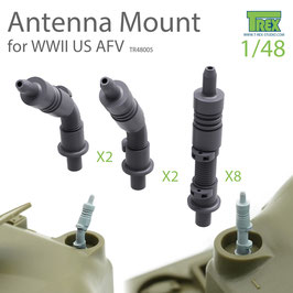 TR48005 1/48 Antenna Mount Set for WWII US AFV