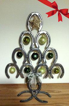 Weihnachtsbaum aus Hufeisen