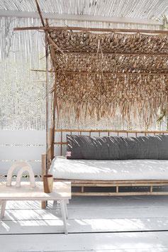 Long Linen Cushion 140