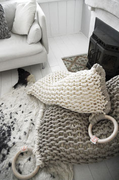 KNITTED BEANBAG EXTRA LARGE