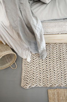 FISHBONE BATHMAT