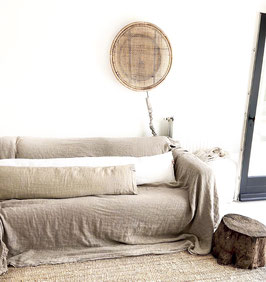 Long Linen Cushion 200 cm