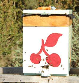 Réservation essaim d'abeilles hivernés Frère Adam Buckfast sur 5 cadres Langstroth 2022