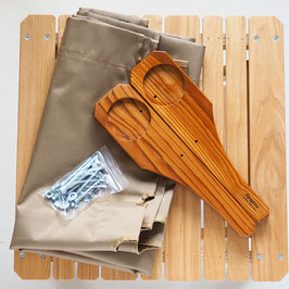 Ecdysis Bench Kit Set (Plain Cloth)
