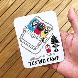 Yes, We Camp! Magnet  by Chi_bee