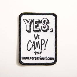 Yes, We Camp! Patch by Ryuji Kamiyama