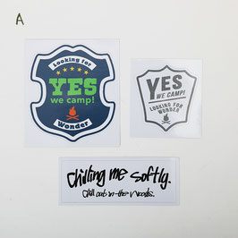 Yes We Camp!® Assort Sticker ステッカーセット