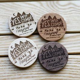 ウッドバッヂ Wooden Badge