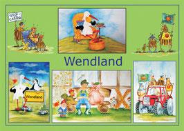 Ansichtskarte Wendland Querformat