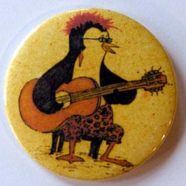 Magnet Pinguin mit Gitarre