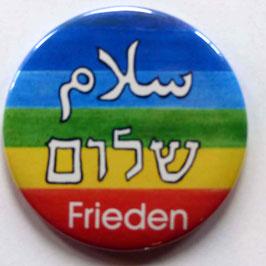 Magnet Frieden dreisprachig
