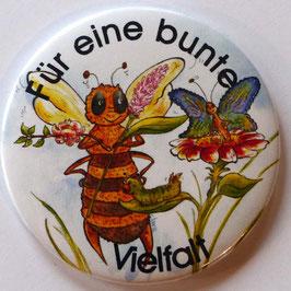 Magnet Bunte Vielfalt weiss