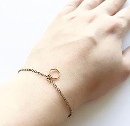 Hexagon armband