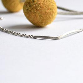 zilveren stingray armband 17.5 cm