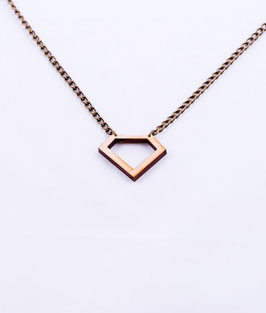 Diamond collier hout