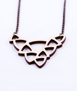 Organic collier hout