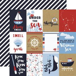 Kartenbogen Ahoy