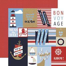 Kartenbogen Bon Voyage