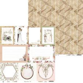Kartenbogen Hochzeit II