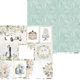 Kartenbogen Hochzeit I