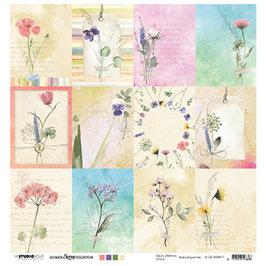Kartenbogen Blumenwiese