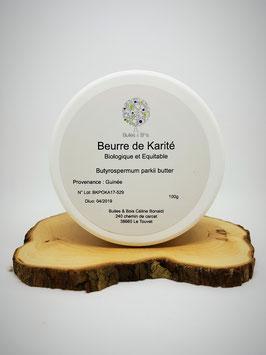 Beurre de Karité Brut Bio et Equitable